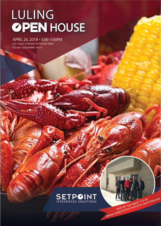 Luling Crawfish Boil Flyer